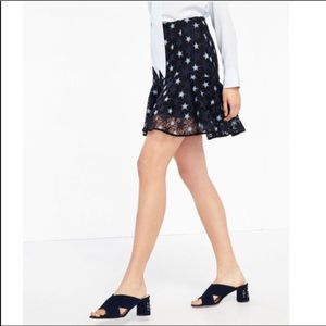 "Sandro ""Cannes"" Star lace mini skirt 2 (US M)"